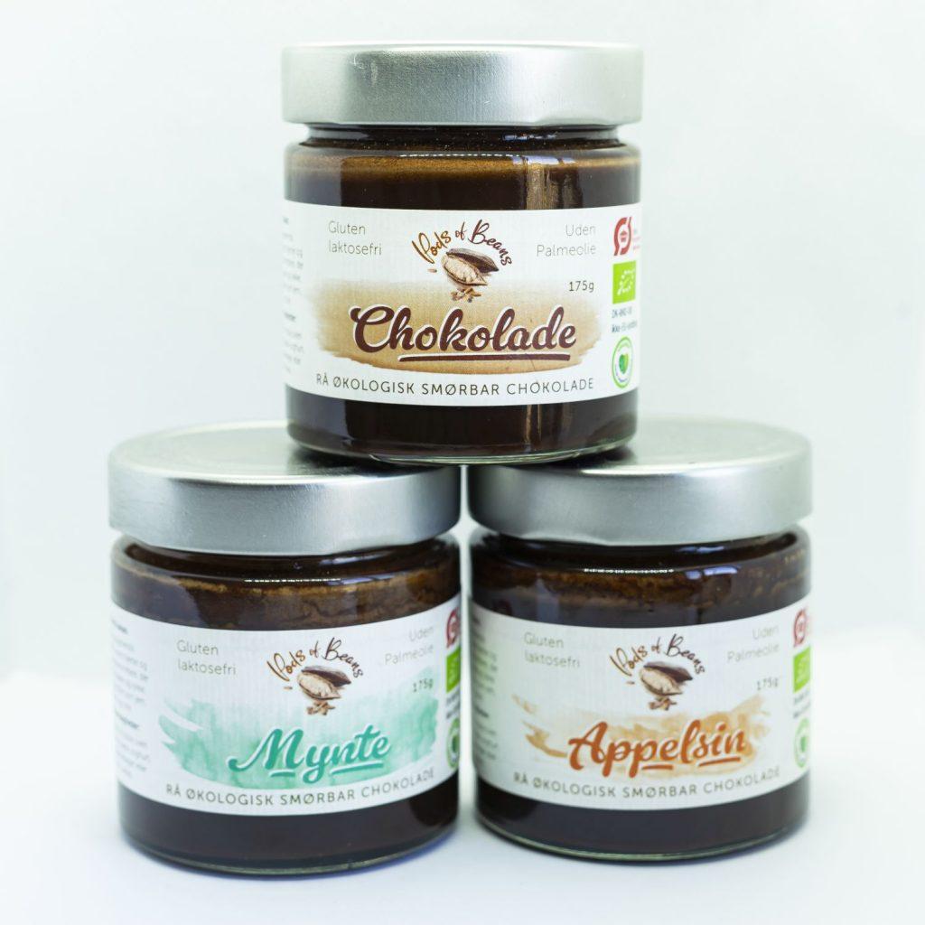 Smørbar chokolade